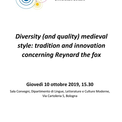 Diversity (and quality) medieval style: tradition and innovation concerning Reynard the fox