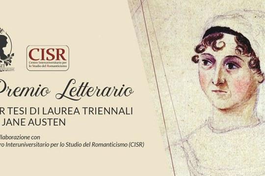 Premio letterario per Tesi di Laurea triennale su Jane Austen