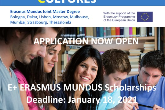 E+ Erasmus Mundus Scholarships