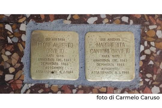 Le prime pietre d'inciampo a Bologna